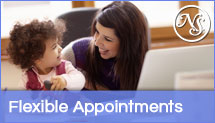 New Smiles Frisco provides flexible appointments and open on Saturday.